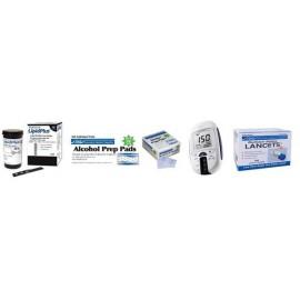 Kit Lipid Pro Medidor de Colesterol 5 en 1
